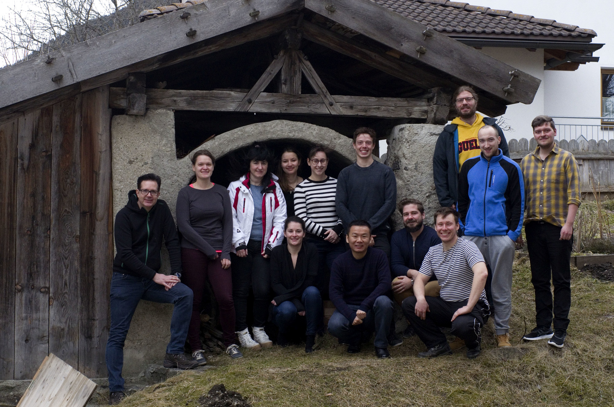 Libuda Group, Schönberg 2018 (with one guest: Dr. Tao Xu) (image: FAU)