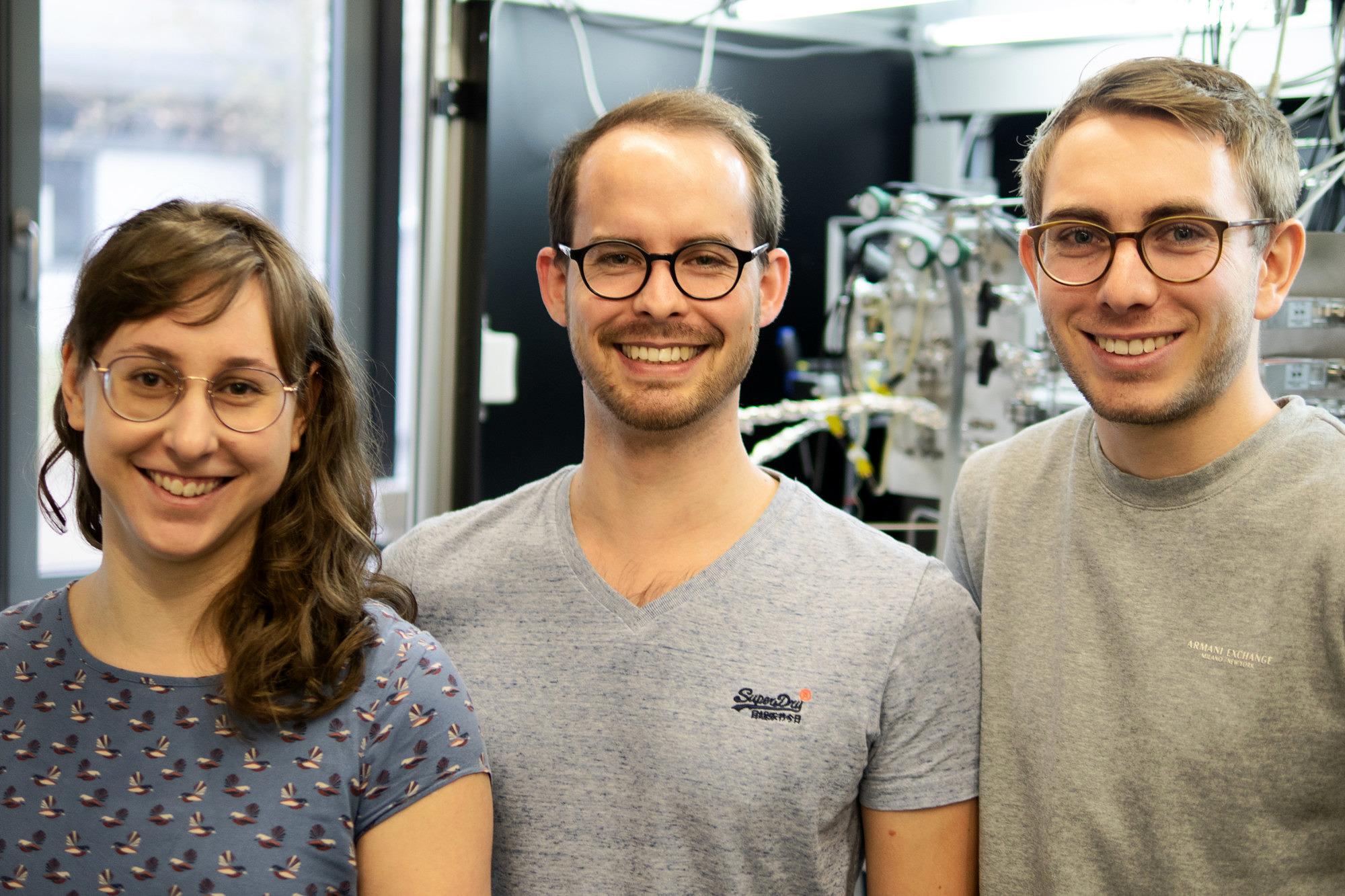 CIRCAT-Team (Dr. Tanja Bauer, Simon Schötz, Dominik Blaumeiser)