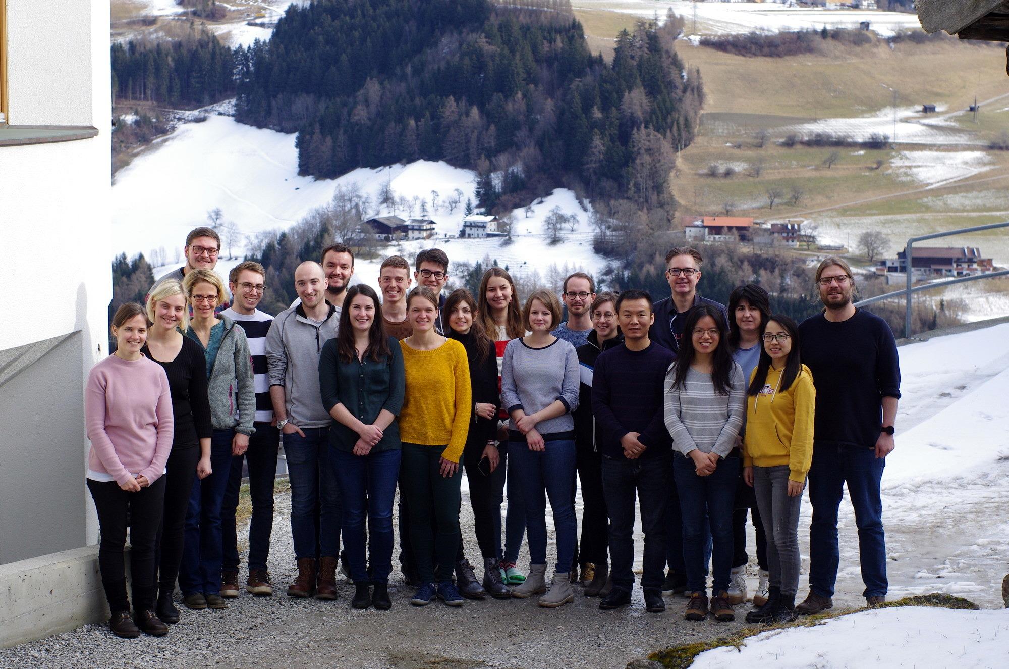 Libuda Group, Schönberg 2020 - (With guests: Prof. Julia Kunze-Liebhäuser, Eva-Maria Wernig, Andrea Auer, Dr. Tao Xu) (image: FAU)