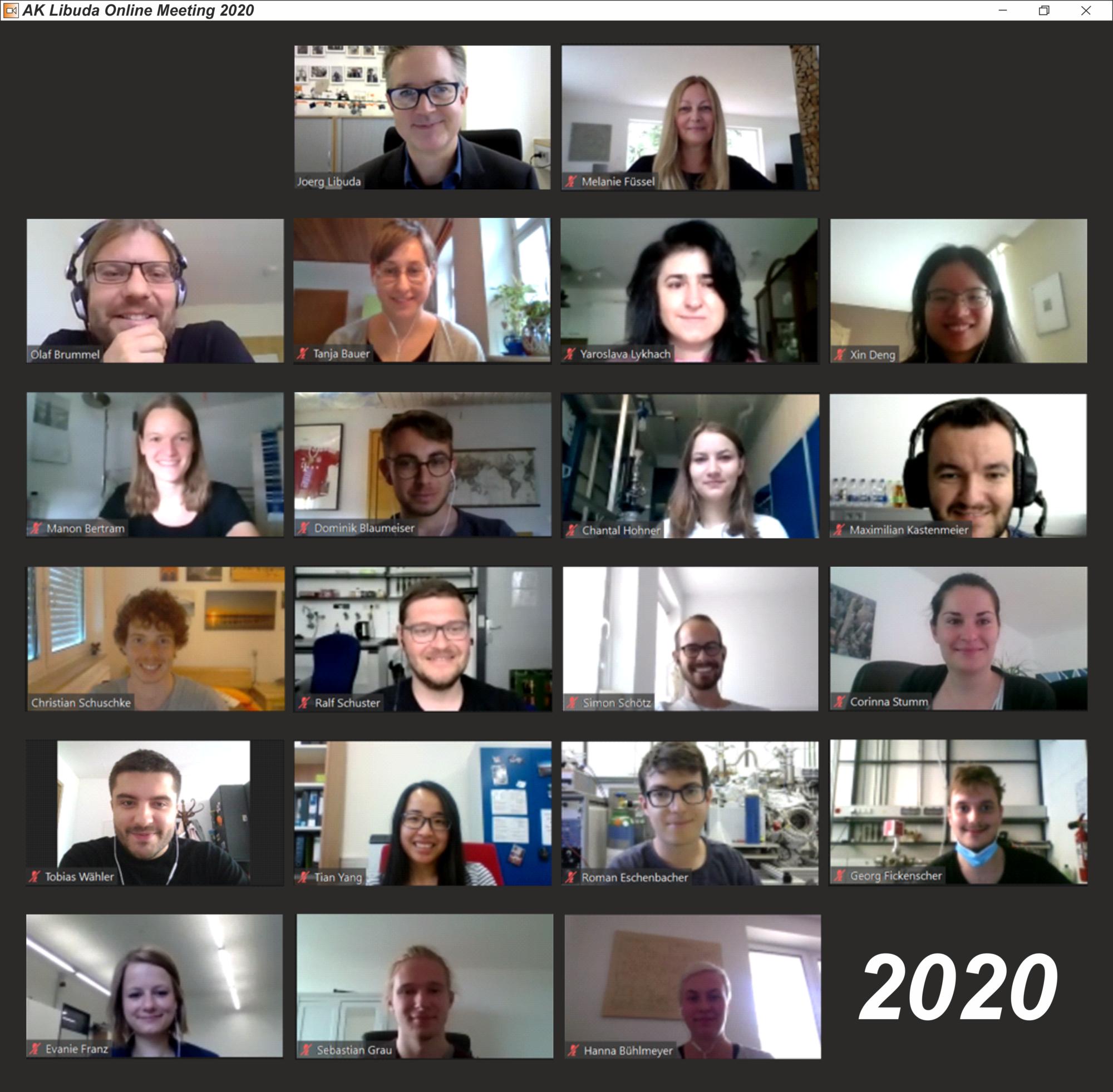 Libuda Group 2020 - (image: FAU)